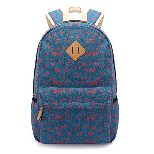 Ethnische Mode-Taschen Mädchen Rucksack Schüler Schultasche #3
