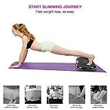 GOTOTOP Vibrations-Plattform für Gewichtsverlust und Fettverbrennung des ganzen Körpers Vibrations-Trainer für Fitness mit Zugschnur Perfekt für Sportler und Menschen, 66 * 34 * 15 cm