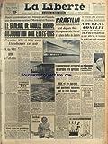 Telecharger Livres LIBERTE LA du 22 04 1960 DE GAULLE AUX ETATS UNIS TETE A TETE AVEC EISENHOWER GUY MOLLET PASSE A L OFFENSIVE BRASILIA LA CITE LA PLUS MODERNE DU MONDE LE PROCES DES ASSASSINS DU SENATEUR BENHABYLES PAUL FORT EST MORT ERIC PEUGEOT EN VACANCES AU PAYS BASQUE AVEC SES PARENTS (PDF,EPUB,MOBI) gratuits en Francaise