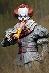 NECA IT (2017) Ultimate Pennywise 18cm Actionfigur - SDCC 2018 GameStop Exklusive Variante