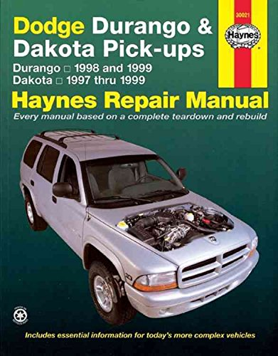Dodge Durango Haynes ([Dodge Durango and Dakota Pick-ups (1997-1999) Automotive Repair Manual] (By: Jeff Kibler) [published: January, 2000])