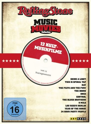 Rolling Stone Music Movies Collection - Gesamtedition [12 DVDs]