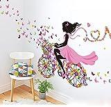 JUNMAONO Elf Wandaufkleber/Wandgemälde/Wand Poster/Aufkleber/Wandtattoo