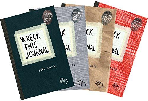 Wreck This Journal Bundle Set PDF Books