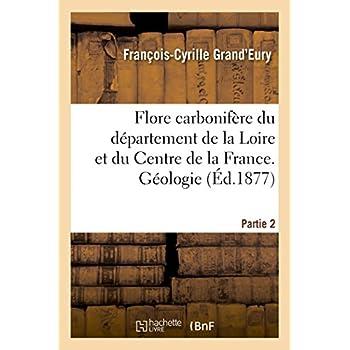 Flore carbonifère du département de la Loire et du Centre de la France. Géologie Partie 2