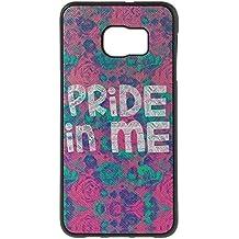 Coque2mobile ®-Carcasa con recubrimiento de piel y tpu para Samsung Galaxy S6 Edge Plus G928 Pride In Me