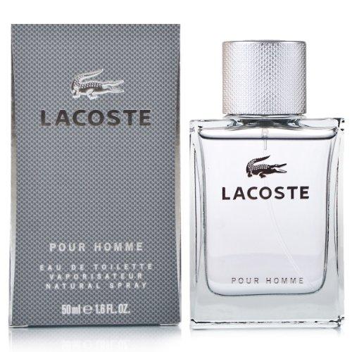 Lacoste Pour Homme Eau de Toilette, Uomo, 50 ml