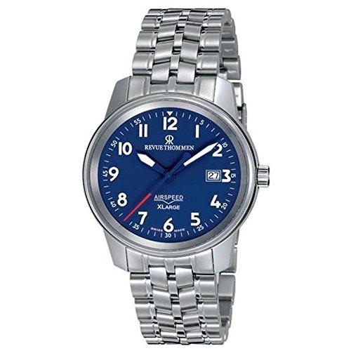 Revue Thommen Reloj de hombre automático 40mm correa de acero 16052.2135
