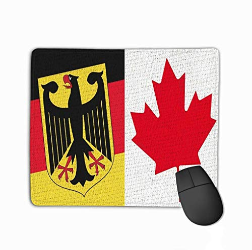 Mouse Pad Rainbow Brick Wall Pennsylvania State Flag Well Worn Painted LGBT Rectangle Rubber Mousepad 11.81 X 9.84 Inch -