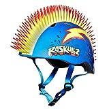 Raskullz Kids Safety Mowhawk Helmet Punk Style Blue - Best Reviews Guide