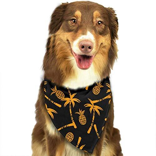 Tmnt Kostüm Jungen - Hipiyoled Силуэты кокосовых пальм с узором Стильный шарф для собак Бандана Шарф для собак Собака Кошка Шарф для собак