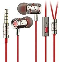 GGMM Hummingbird Auricolari Cuffie In-Ear Stereo Headset con Microfono , Suono Chiaro (Multa Suono)One-Button Microfono da 3,5mm UNIVERSALE