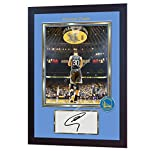 SGH SERVICES Gerahmtes Poster mit Autogramm von Stephen Curry Golden State Warriors NBA mit Autogramm und Autogramm