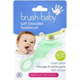 Brush-Baby Chewable Toothbrush (Blue)