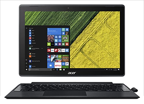 "Acer Switch 3 SW312 31 P65R Notebook 2 1 con Processore Intel Pentium Quad Core N4200 RAM da 4 GB DDR3 eMMC 64 GB Display da 12"" FHD IPS LED LCD"