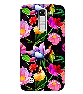 ifasho Designer Back Case Cover for LG K7 :: LG K7 Dual SIM :: LG K7 X210 X210DS MS330 :: LG Tribute 5 LS675 (Golden Shower Tree Happiness Celebration Party Event Rose Key Chains Mature Flourish Bloom Open)