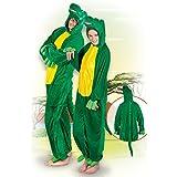 NEU Damen- und Herren-Kostüm Krokodil, Gr. M-L