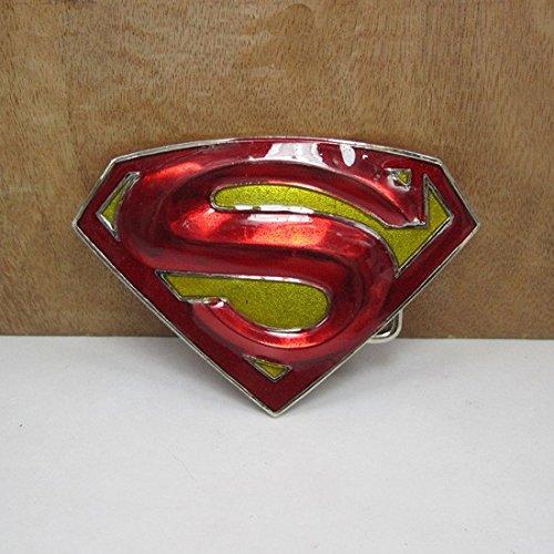 Blue Birds-Cintura con fibbia in metallo, motivo: Superman