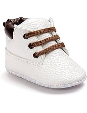 Lauflernschuhe,Amcool Weiche Sohle PU Leder Luxus Säugling Junge Mädchen Kleinkind-Schuhe