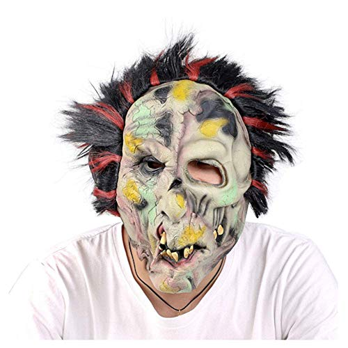 YaPin Halloween Horror Maske Spukhaus Secret Room Arrangement Party Film Schießen Horror Ganze Menschen Heikles Scary Maske (Halloween Von Secret 13 Tage)