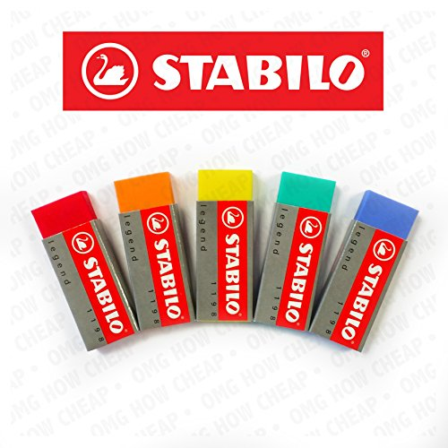 stabilo-legend-plastic-eraser-pack-of-5-one-of-each-colour