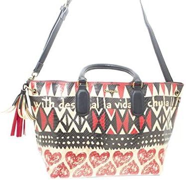 Shoppers y bolsos de hombro para mujer, color Rojo , marca DESIGUAL, modelo Shoppers Y Bolsos De Hombro Para Mujer DESIGUAL 61X50E0 Rojo