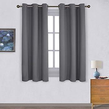 Eyelets Blackout Windows Curtains Panels - PONY DANCE (52\
