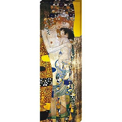 Gustav Klimt - Las Tres Edades De La Mujer, Detalle Cuadro, Lienzo Montado Sobre Bastidor (150 x