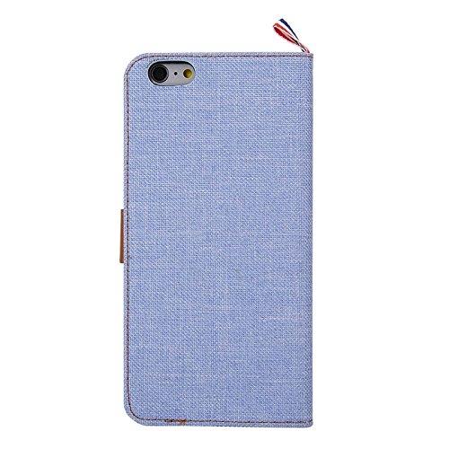 Phone case & Hülle Für IPhone 6 Plus / 6S Plus, Eisskulpturen TPU Schutzhülle mit Griff ( Color : Magenta ) Baby Blue