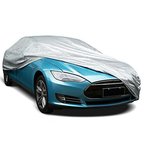 INTEY Car Case, Car Exterior Cover, Antifreeze, Waterproof and Anti-dust, etc. Dimension of 4,8x1,75x1,2 M / 188x65x47in
