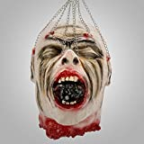 Halloween deko Gruselig Zombie Kopf Hängende Dekoration Zombiekopf (Stil 03)