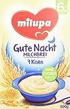 Milupa Abendbrei 7-Korn ab dem 6. Monat, 4er Pack (4 x 500 g Packung)