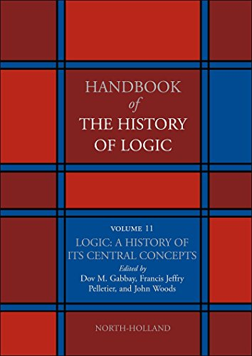 Logic: A History of its Central Concepts (Volume 11) (Handbook of the History of Logic (Volume 11), Band 11)