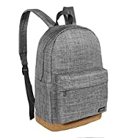 Thikin Preppy Middle High School Backpack Laptop Rucksack Simple Teens Casual Daypacks Lightweight Bag