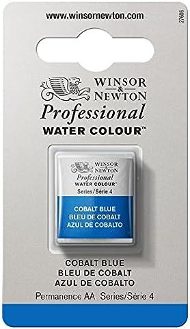 WINSOR & NEWTON PROFESSIONAL WATER COLOUR 1/2 GODET 178 BLEU DE COBALT