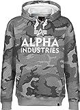 Alpha Industries Foam Print Hoodie grey camo
