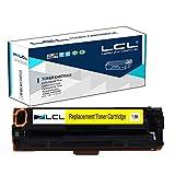 LCL(TM) 131A CF212A (1-Stück,Gelb) Toner Kompatibel für HP Laserjet Pro 200 Color M251nw