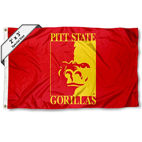 College Flags and Banners Co. Pittsburg State Gorillas 2 x 3 Fuß Flagge