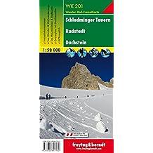 Freytag Berndt Wanderkarten, WK 201, Schladminger Tauern - Radstadt - Dachstein - Maßstab 1:50 000