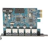 Gazechimp 1x Tarjeta USB 5 Puertos de Conectar Dispositivo con Unidad de Disco Tornillo Accesorios Ordenador Portátil Equipo de Protección Funcionamiento Estable