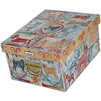 Artra Deko-Karton M Bauli Ordnungsboxen Dog Aufbewahrungsbox für Haushalt Büro Wäsche Geschenkbox Dekokarton Sammelbox Mehrzweckbox Ordnungskarton Ordnungsbox Geschenkekarton preisvergleich bei kinderzimmerdekopreise.eu