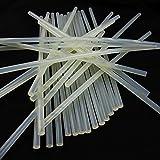 uxradg Hot Melt Klebestifte Papiervlies für Heimwerker Arts, Hobby, Handwerk, Mini, Metall, Holz, 7* 100mm 10Pack