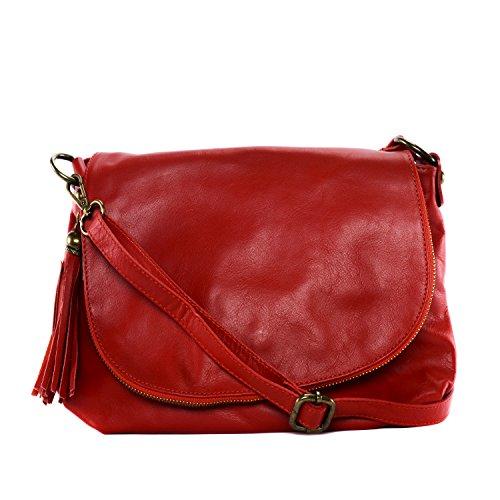 8bf9134a1e OH MY BAG Sac à Main CUIR souple femme - Sac porté bandoulière - Modèle 72