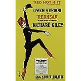 Poster Redhead Broadway musical (Leinwand )