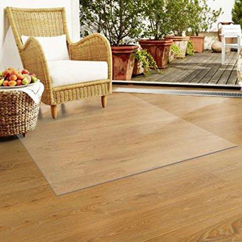 lililili Pvc-matte für teppiche,Büro-stuhl-matte für teppichböden, Wasserdicht,Anti-schleudern,Multi-purpose floor protector,1.5mm stärke und verschiedenen größen- 120x150cm(47x59inch)