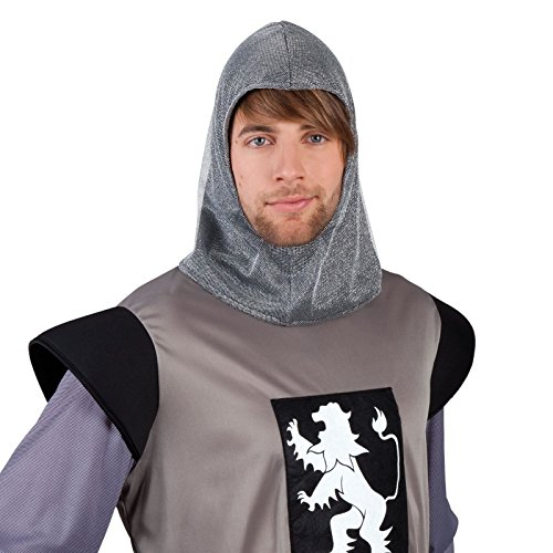 Hood Fabric Chainmail Chain Mail Hood Helmet Coif Armour LARP Hat Men by BOLAND BV (Chainmail Coif Kostüm)