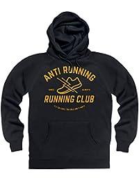 Anti Running Running Club Hoodie, Herren