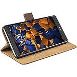 mumbi Tasche im Bookstyle für Huawei Mate 9 Tasche braun