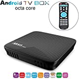 MECOOL M8S PRO TV Box 3GB DDR4 RAM 16GB eMMC Amlogic Octa Core S912 Android 7.1 4K Movies Smart TV Media Player HDR10 802.11AC Dual Band WIFI LAN Bluetooth H.265