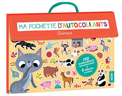 MA POCHETTE D'AUTOCOLLANTS - SPECIAL ANIMAUX